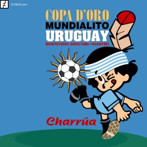 Mundialito - Uruguai 1980.