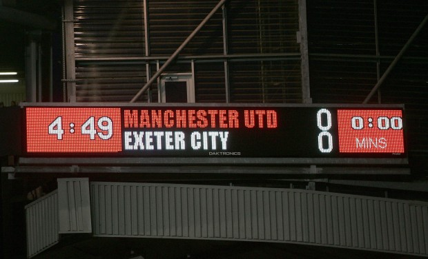 FA Cup - Manchester United v Exeter City