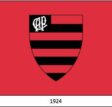 Escudo de fundação do Atlético/PR