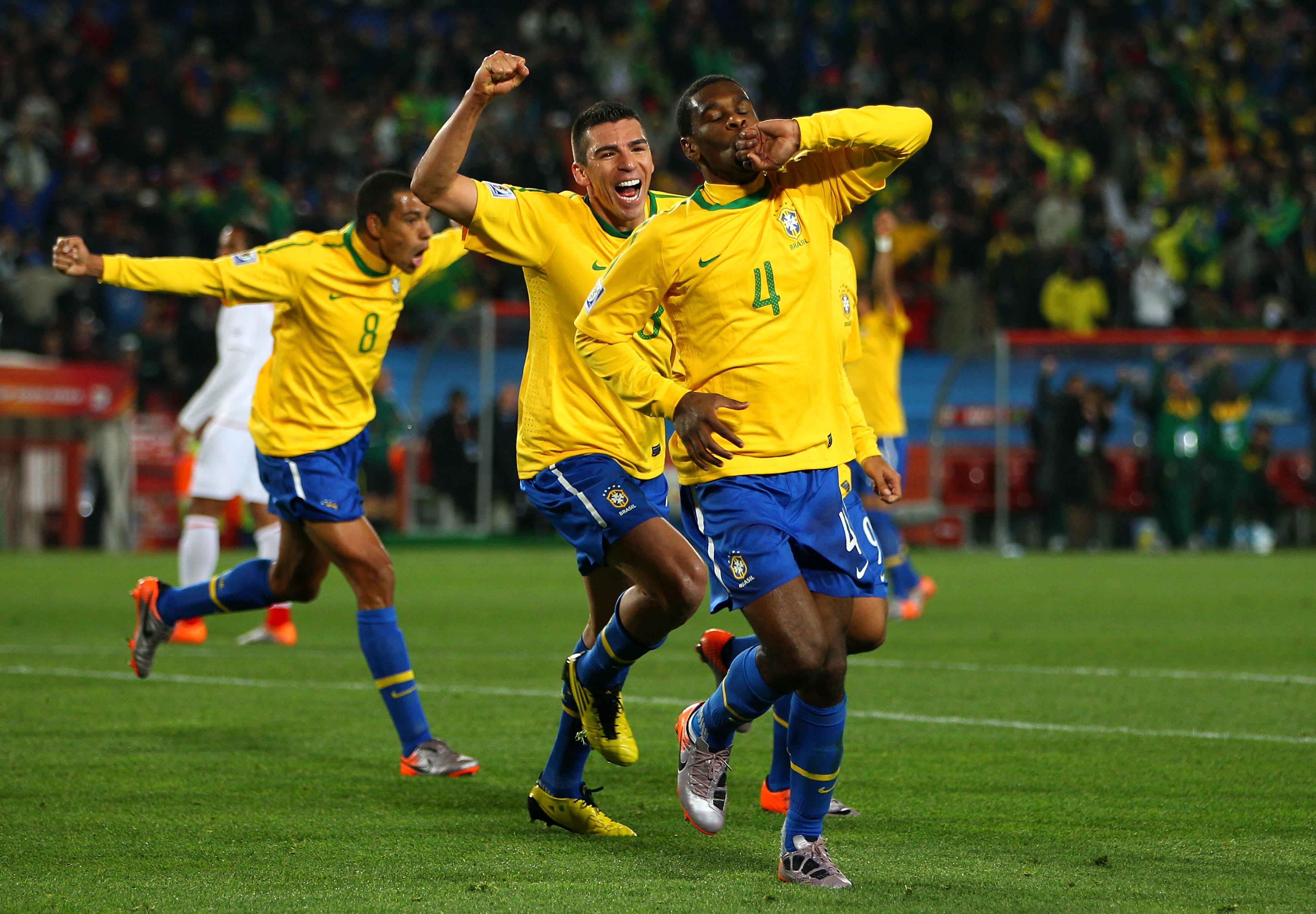 As Camisas Do Brasil Em Copas Do Mundo