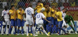 Quarter-final Brazil v France - World Cup 2006