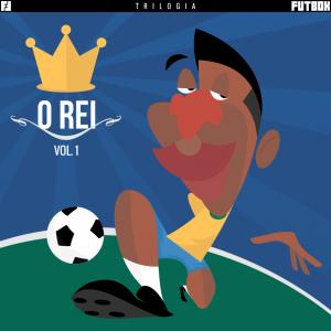 Caricatura de Pelé nos traços do FUTBOX.com