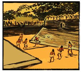 """México: """"pok ta pok"""" era praticado pelos maias. O principal atirador da equipe derrotada era morto"""