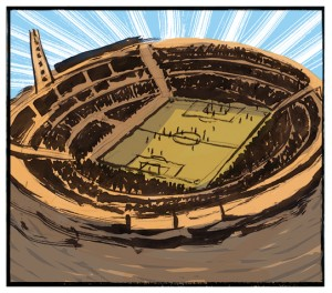 Uruguai, 1930: é disputada a 1ª Copa do Mundo