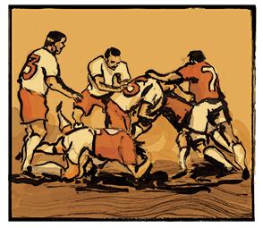 1863: ficava clara a separação entre futebol e rugby