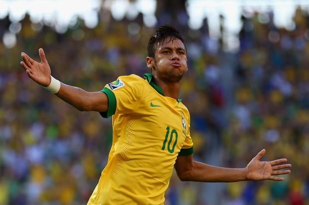 Neymar é a principal esperança do Brasil na Copa de 2014