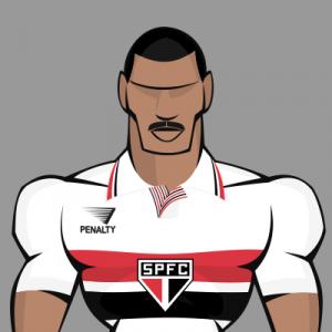 Top 7 bigodes do futebol - Toninho Cerezo, bicampeão mundial e da Libertadores com o São Paulo