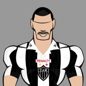 Top 7 bigodes do futebol - Valdir Bigode foi campeão da Conmebol com o Galo em 1997