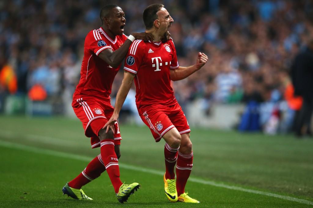 Com Ribery em campo, não tem placar em branco