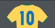 Pelé eternizou a camisa 10 na Copa do Mundo de 1958