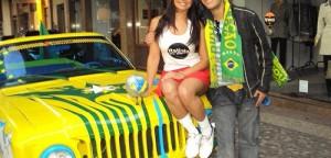 Jipala, o carro da Copa