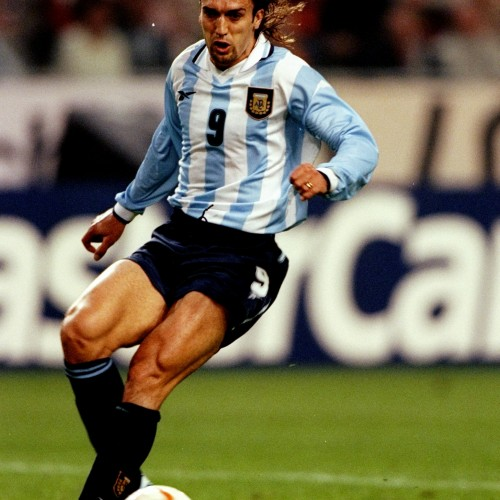 Holland v Argentina Gabriel Batistuta