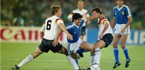 Maradona Tackled