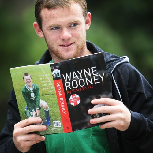 Wayne Rooney Launches Biography In Manchester