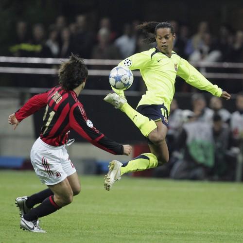 UEFA Champions League Semi Final: AC Milan v Barcelona