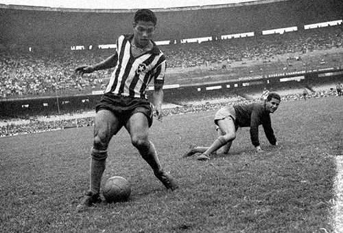 Garrincha no Maracanã