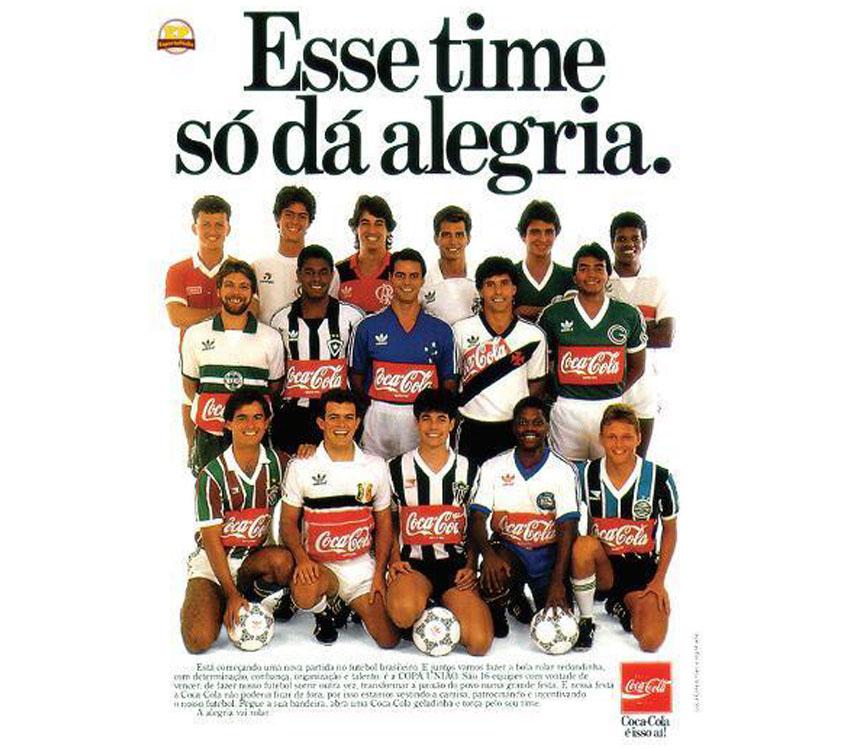 Propaganda da Coca-Cola: Copa União de 1987