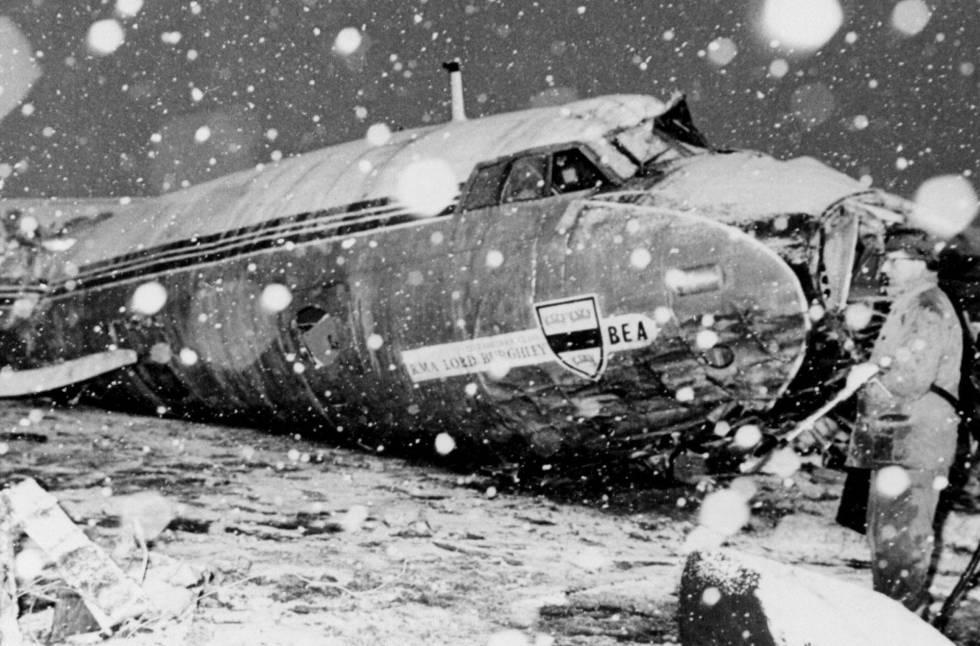1958 avião manutd
