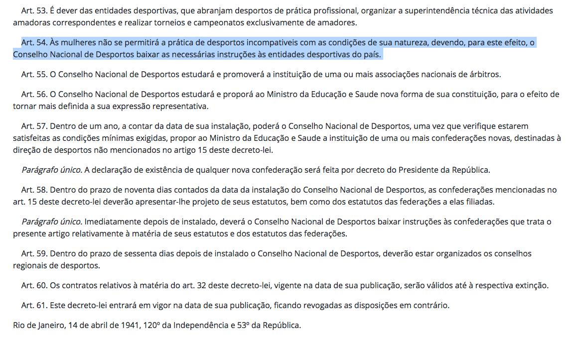 Decreto-Lei 3199 do Governo Getúlio Vargas