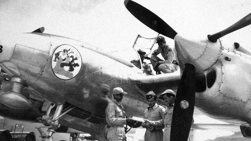 6 Honduras e El Salvador usaram, no conflito, aviões da Segunda Guerra construídos pelos EUA