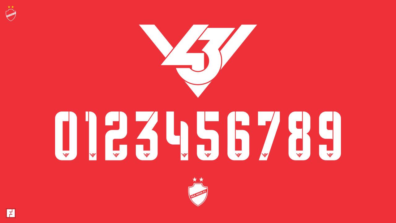 Numeração V43 - 2020