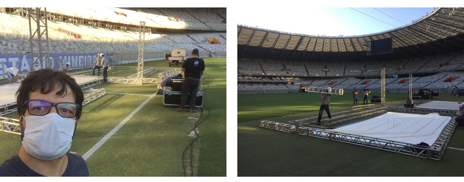 Estádio Mineirão, Belo Horizonte, 19/05/2020.