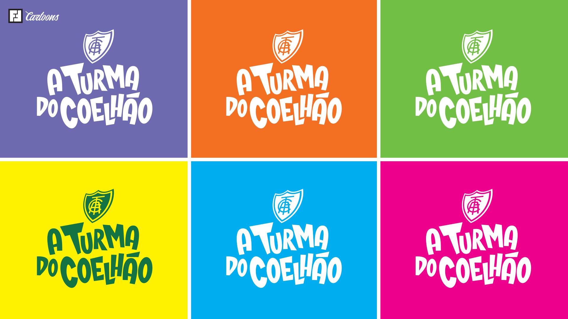 """Aplicações Logo: """"A Turma do Coelhão"""""""