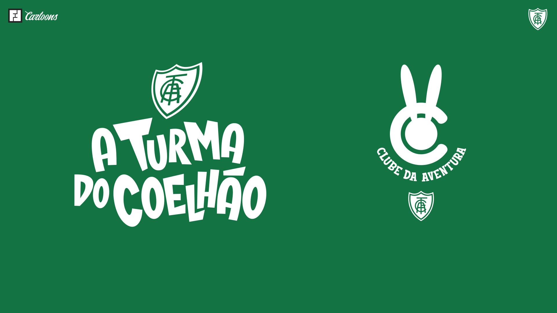 """Logos """"A Turma do Coelhão"""" e """"Clube da Aventura"""""""