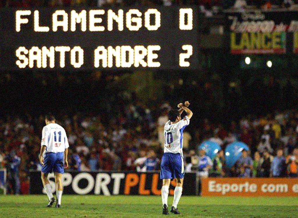Santo André 2004: campeão da Copa do Brasil