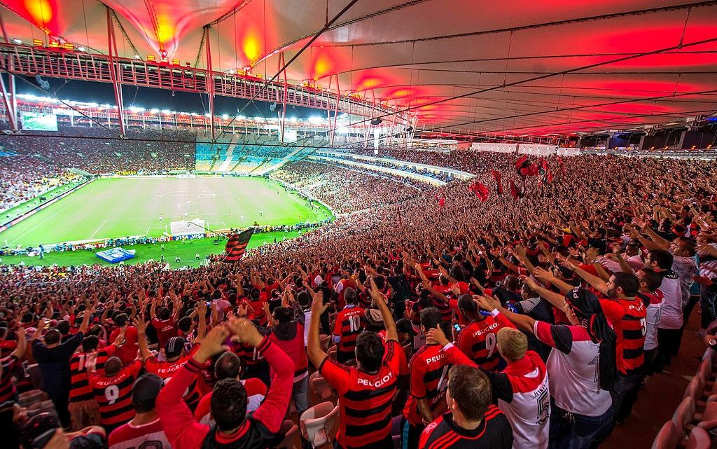 Torcida do Flamengo. Maracanã, 2019.