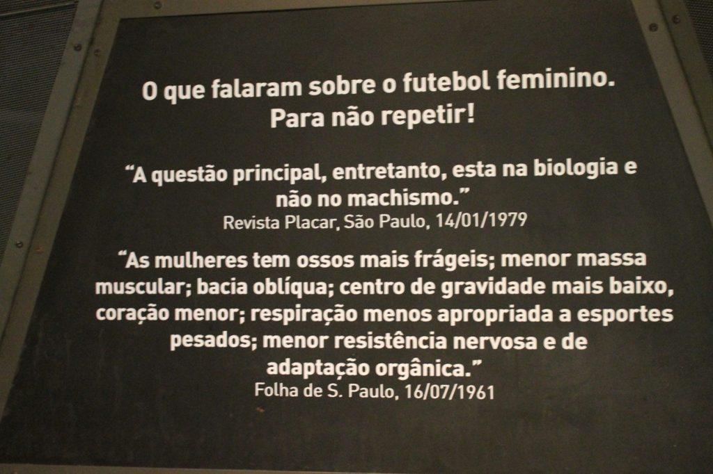 Acervo Museu do Futebol (Foto: Roberta Nina / Dibradoras)