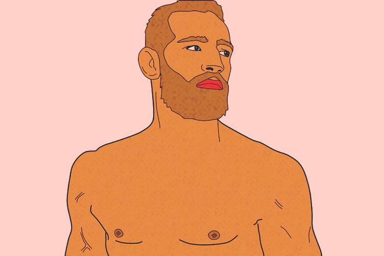 Ilustração Conor McGregor