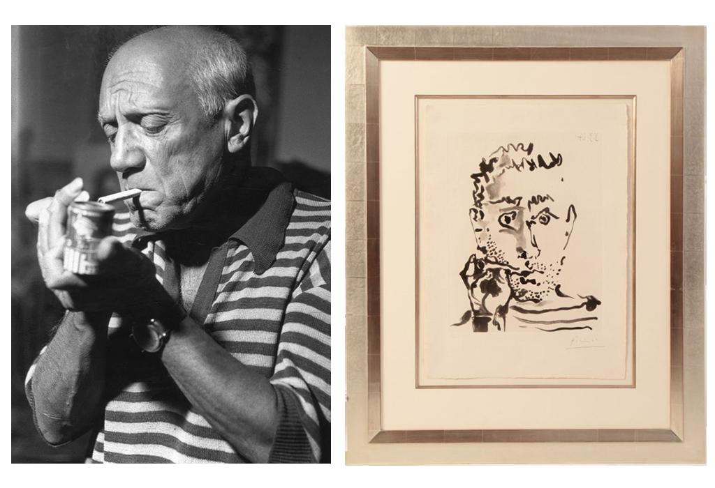 Picasso e sua obra, Fumeur V